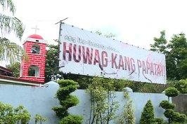 pangasinan-church-banner-huwag-kang-papatay